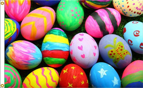 Easter Eggs - 3x5'