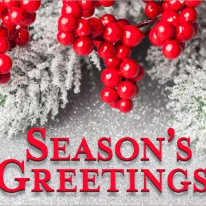 Seasons Greetings - 3x5'