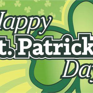 St. Patrick's Day - 3x5'