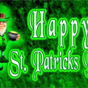 St. Patrick's Day Leprechaun - 3x5'
