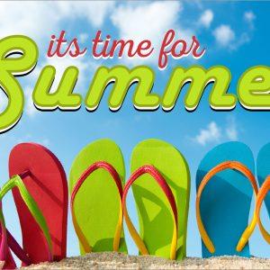 Summer Sandals - 3x5'