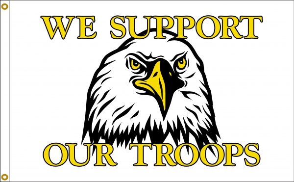Support Our Troops - 3x5'