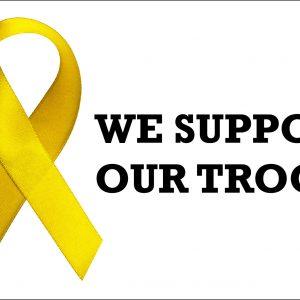 Support Ribbon - 3x5'