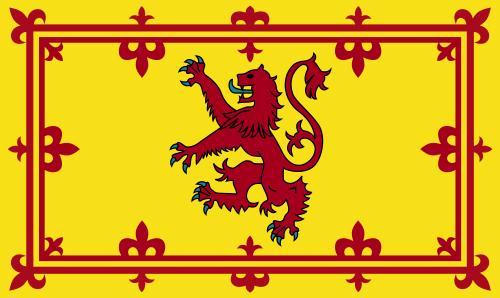 Scotland Rampant Lion - 4x6'