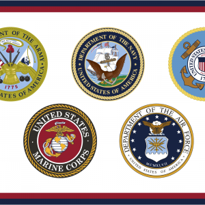 U.S. Armed Forces - 2x3'