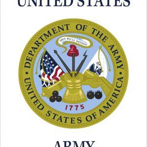 """U.S. Army - 18x12"""""""