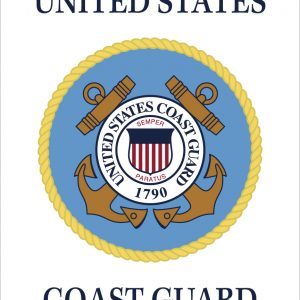 """U.S. Coast Guard - 18x12"""""""