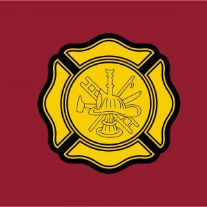 Fire Department - 3x5'