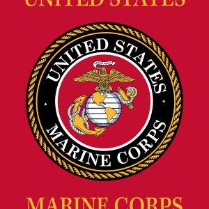 "U.S. Marines - 18x12"""