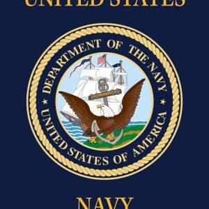 "U.S. Navy - 18x12"""