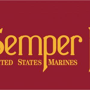Semper-Fi - 3x5'