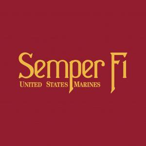 """Semper-Fi - 18x12"""""""