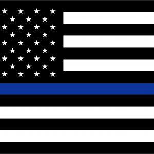 Thin Blue Line U.S. - 3x5'
