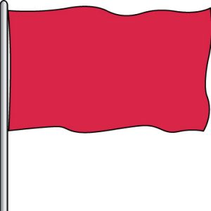 Solid Attraction Flag - O.G. Red 3x5'