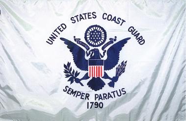 U.S. Coast Guard - 3x5'