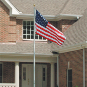 North American Telescoping Flagpole - 16'