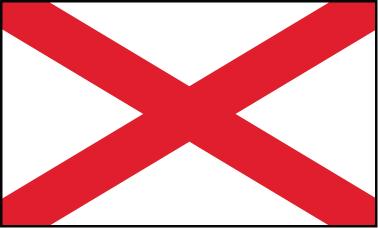 Alabama - 3x5'