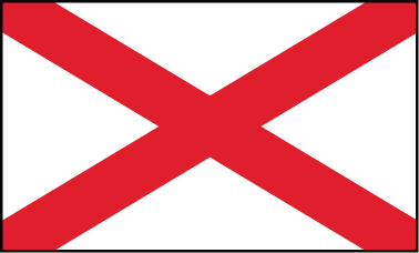 Alabama - 4x6'