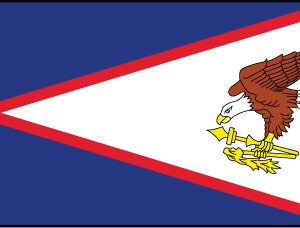 American Samoa - 3x5'