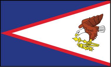 American Samoa - 4x6'