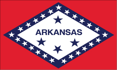 Arkansas - 4x6'