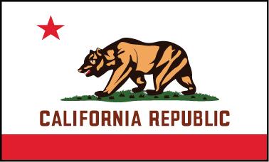 California - 3x5'