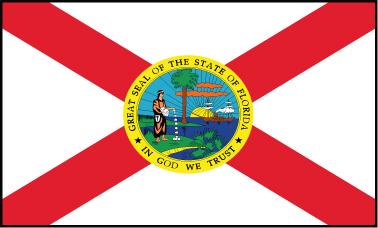 Florida - 3x5'