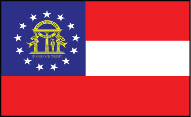 Georgia - 4x6'