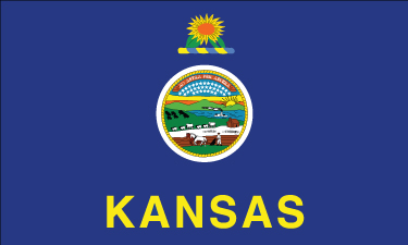 Kansas - 4x6'