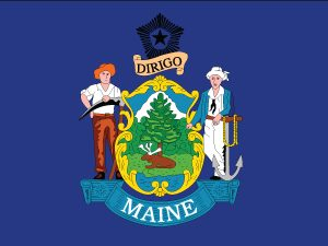 Maine - 4x6'