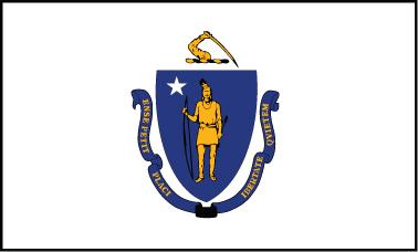 Massachusetts - 3x5'
