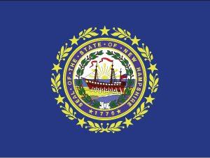 New Hampshire - 4x6'