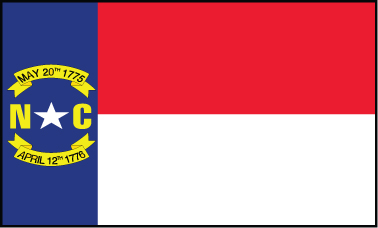 North Carolina - 4x6'
