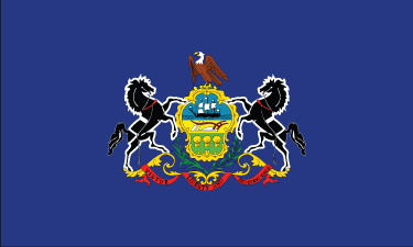 Pennsylvania - 4x6'