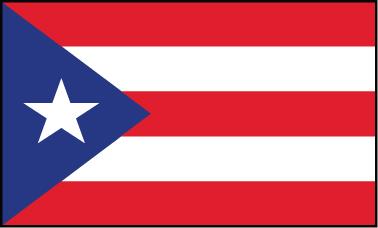 Puerto Rico - 5x8'