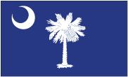 South Carolina - 4x6'