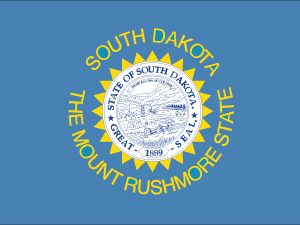 South Dakota - 4x6'