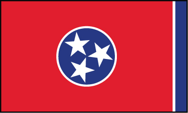 Tennessee - 3x5'