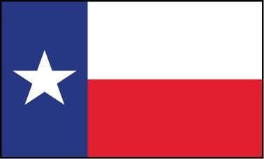 Texas - 4x6'
