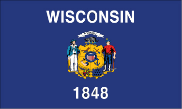 Wisconsin - 3x5'