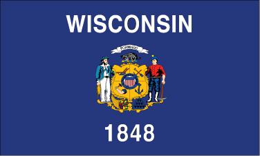 Wisconsin - 4x6'